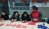 浙江温州市南汇街道万源社区计生协开展老年人手工剪纸活动