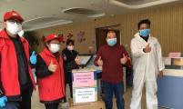 湖北省计生协为基层社区赠送防护用品