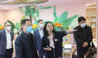 浙江省计生协专职副会长潘祖光调研杭州市下城区婴幼儿照护服务工作