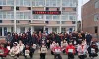 安徽省蚌埠市经开区胜利街道卫健办开展两节期间走访慰问留守儿童公益活动